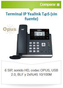 Yealink T41S - Avanzada 7